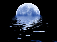 Kuu ja vesi