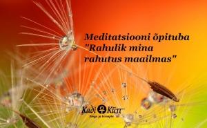 Meditatsiooni õpituba