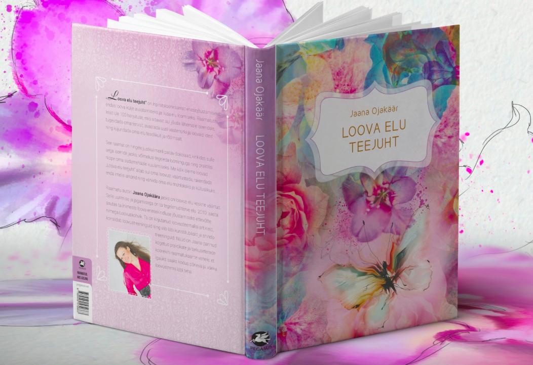 """Väärt kingiidee: raamat """"Loova elu teejuht"""""""