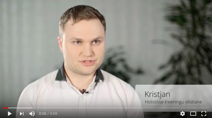 Videotagasiside holistilisele treeningule – Kristjan
